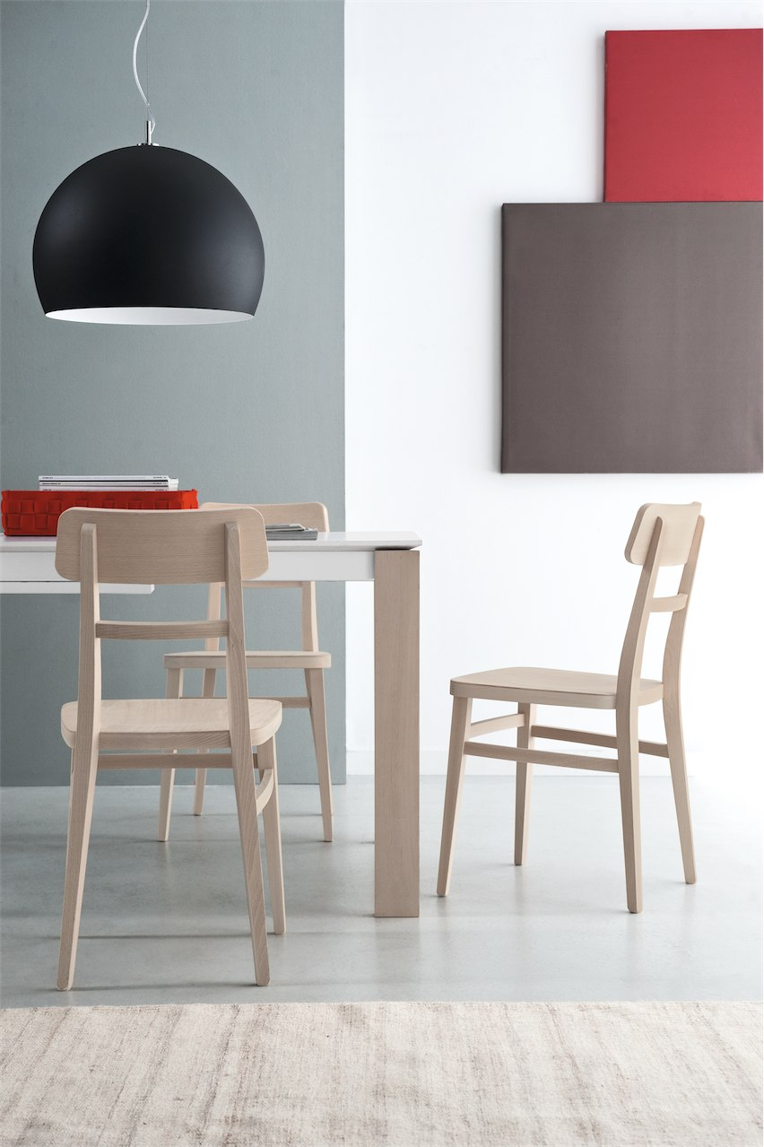 sedia milano connubia by calligaris linea tavoli e sedie
