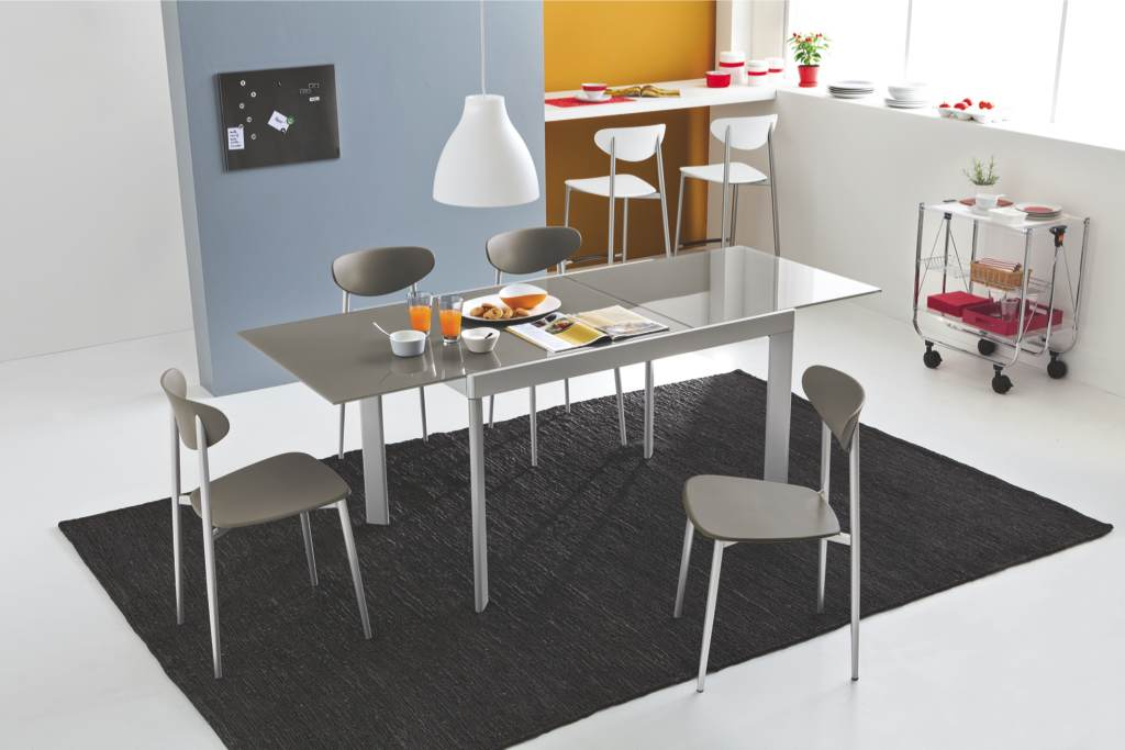 Tavolo plano vetro connubia by calligaris linea tavoli e for Catalogo calligaris
