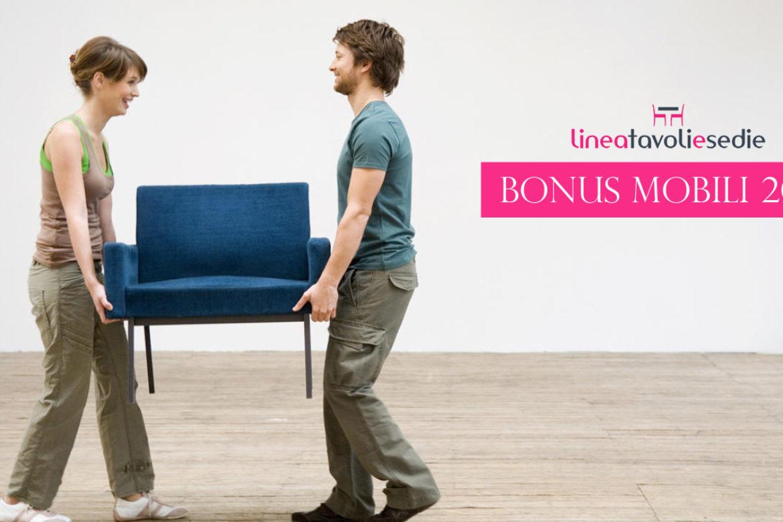 Bonus Mobili 2016 – Tavoli e Sedie