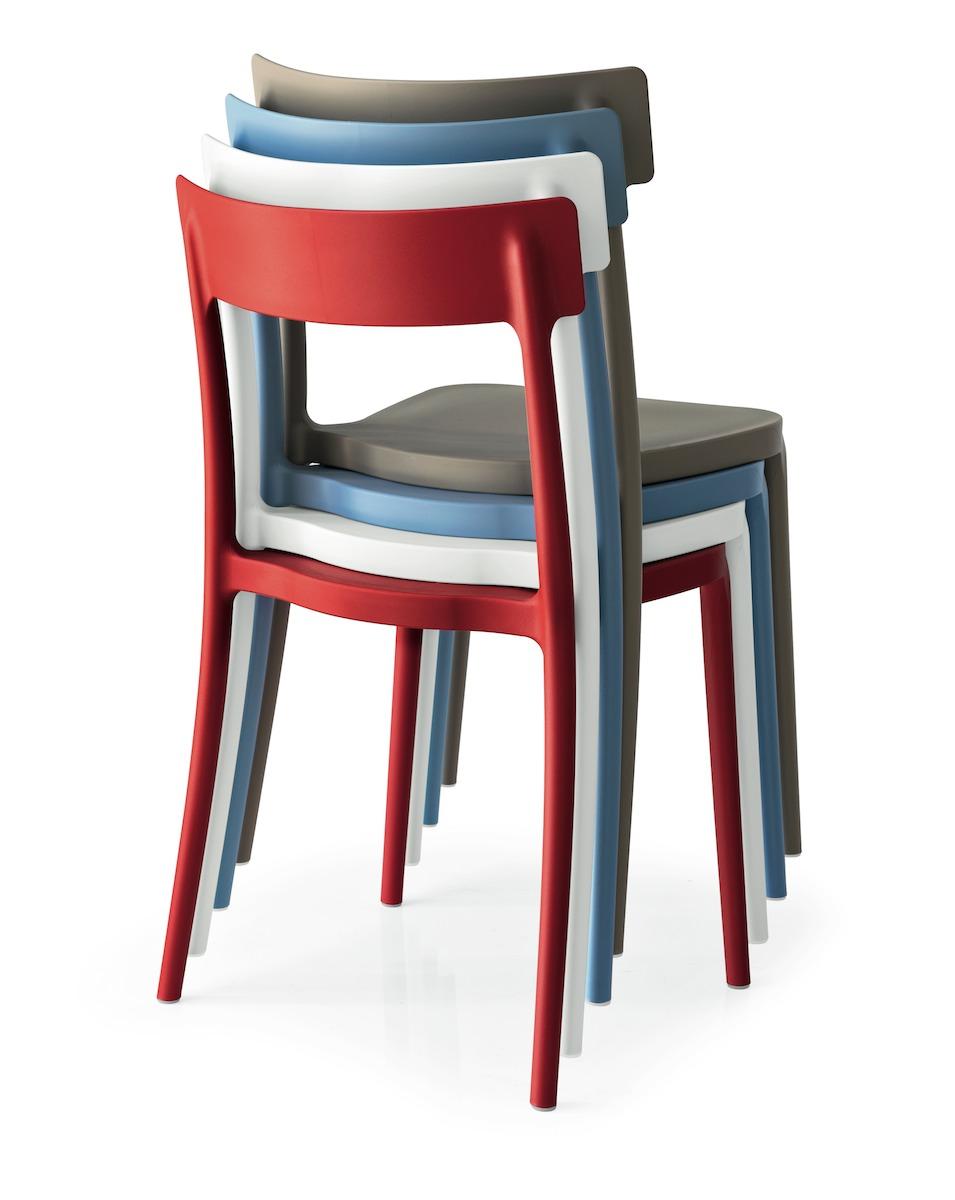 Sedia Argo Connubia by Calligaris - linea tavoli e sedie