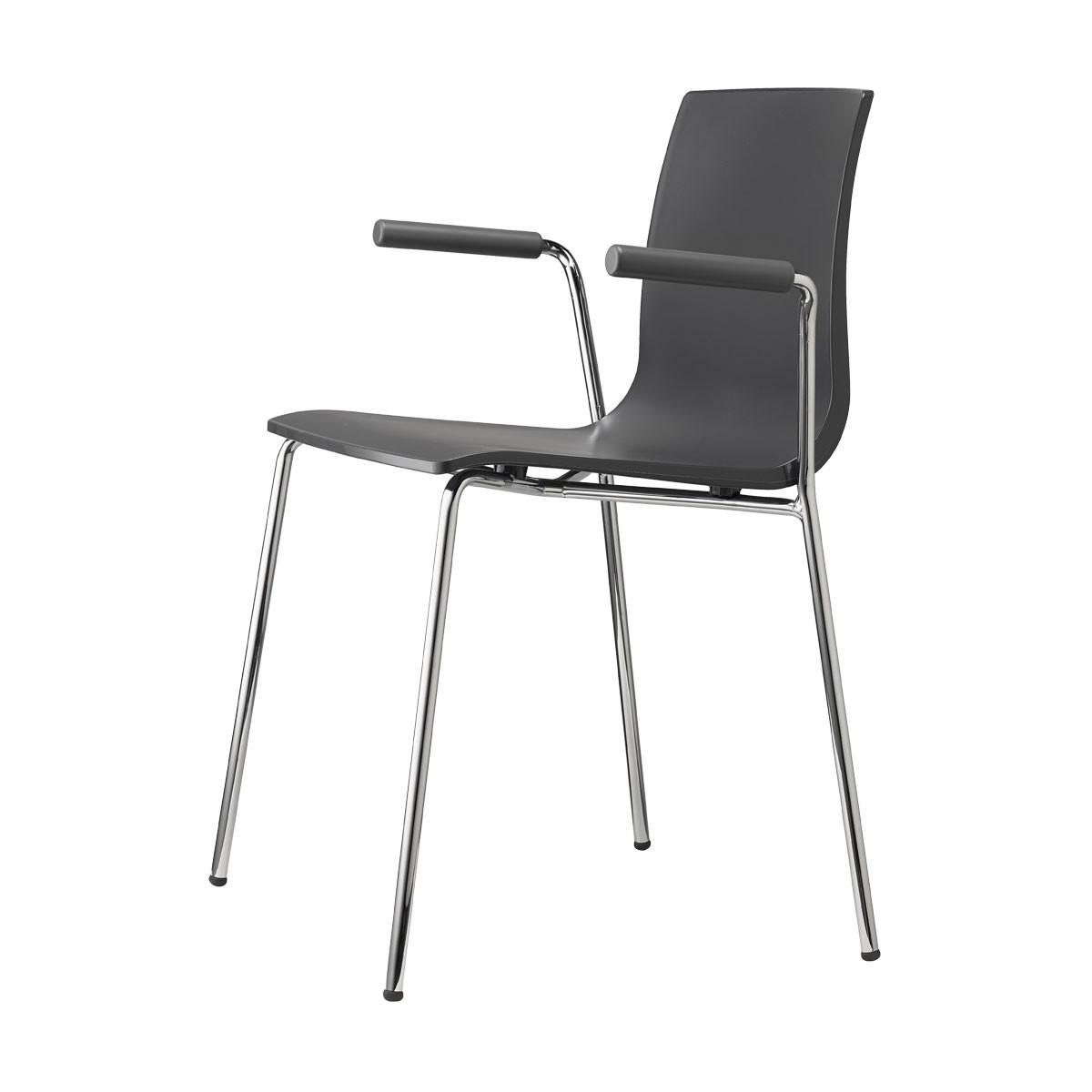 Sedia alice con braccioli aperti scab design linea for Sedie scab vendita online