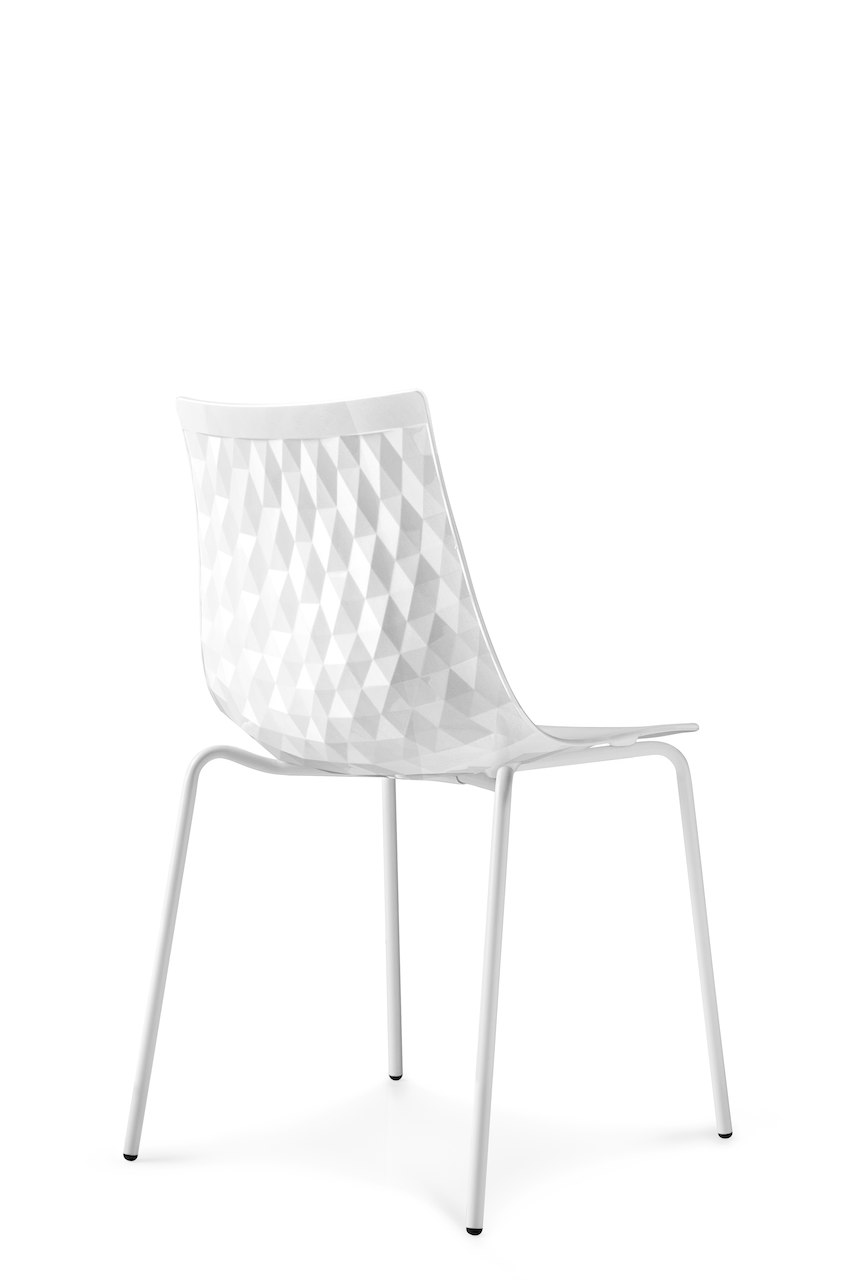 Sedia Ice Connubia by Calligaris - linea tavoli e sedie
