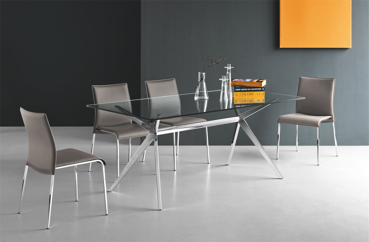 Seven 130 connubia by calligaris linea tavoli e sedie for Catalogo calligaris