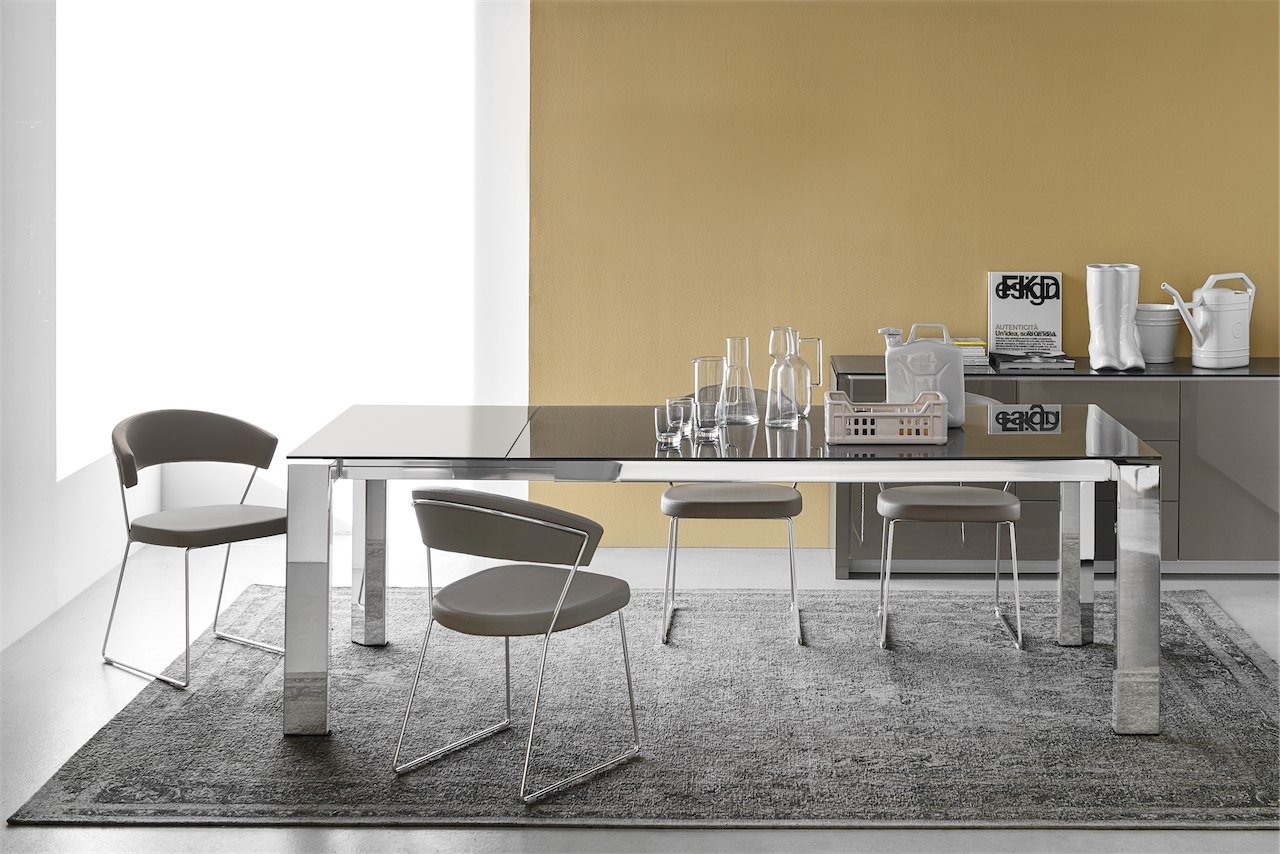 Sedia new york cb 1022 lh connubia by calligaris linea for Calligaris new york